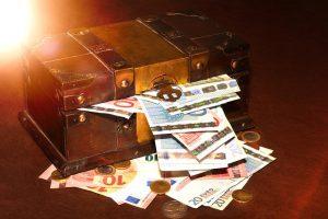 Tesouro com Euros